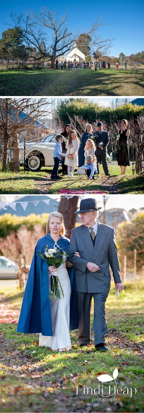 Gundaroo, NSW Vintage Winter Wedding by Lindi Heap Photographer