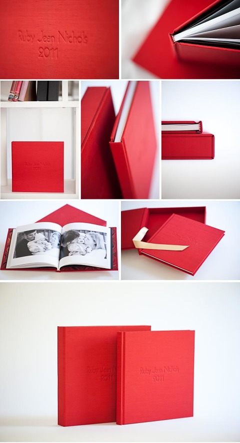 Handcrafted photo books by Lindi heap Photography